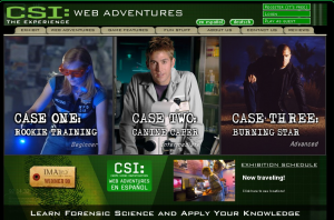 csi web adventures